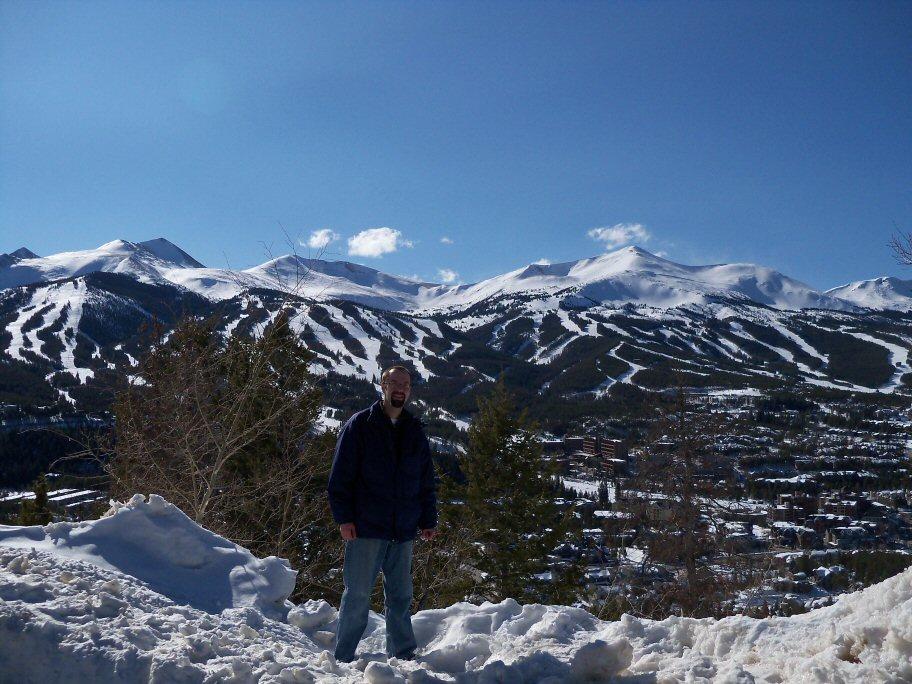Me on Bald Mountain....