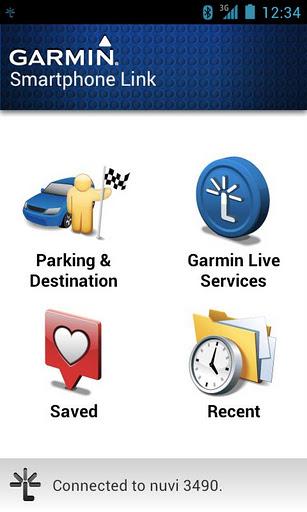 Garmin Smartlink Phone Application
